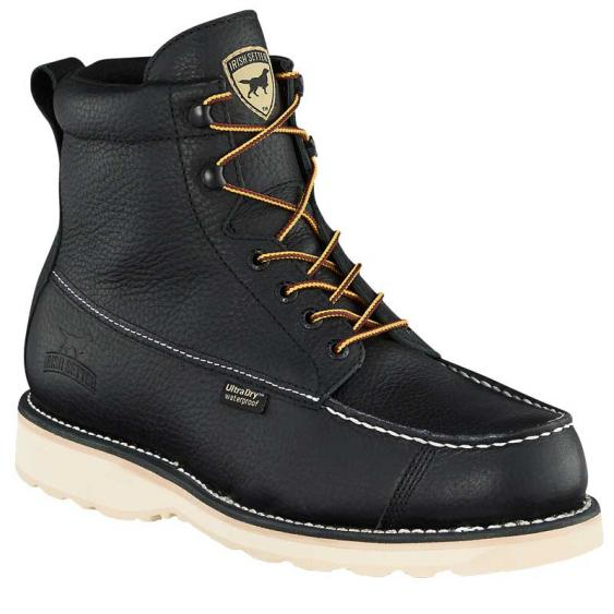 Irish Setter by Red Wing Wingshooter 7'' Soft Toe Black 00845 (Men's)