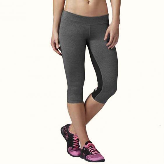 Reebok CrossFit 3/4 Tight Black / Grey B83882 (Women's)