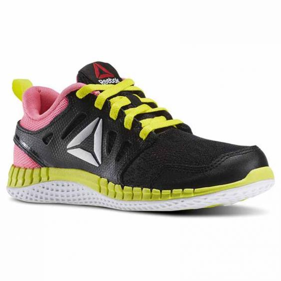 Reebok Zprint 3D Black / Pink / Yellow AR2883 (Kids)
