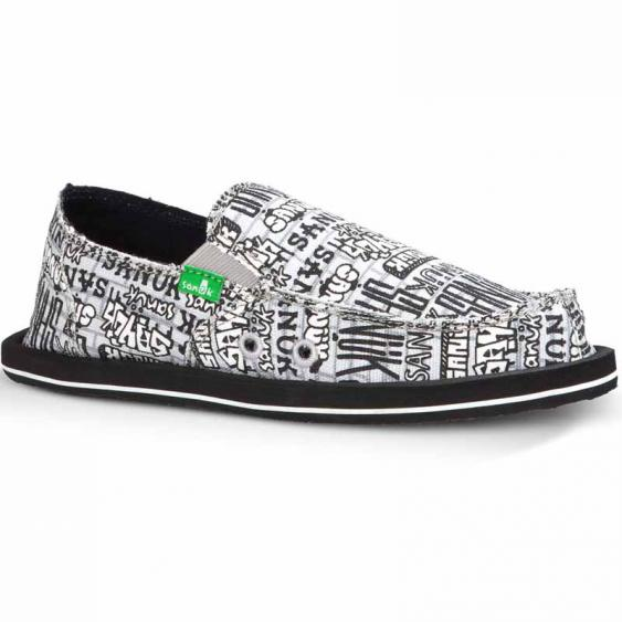 Sanuk Lil Donny Funk Grey Graffiti SBF10847Y-GGFF (Youth)