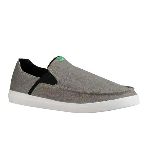 Sanuk Pick Pocket Slip-On Sneaker Grey 1094612-GREY (Men's)