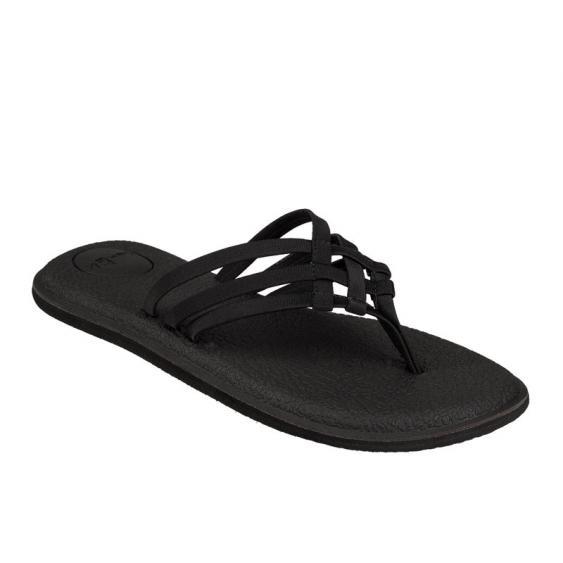 Sanuk Yoga Salty Black 1103940-BLK (Women's)
