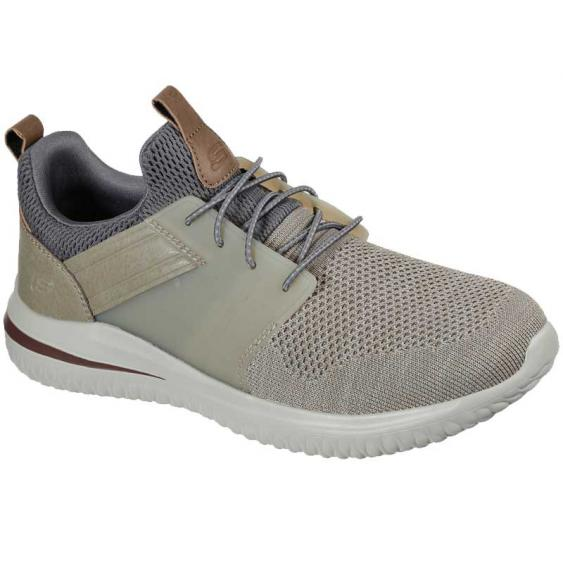 Skechers Delson 3.0 Cicada Taupe 210238-TPE (Men's)