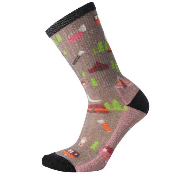 Smartwool Hike Light Summer Nights Print Medium Grey SW001399-052 (Women's)