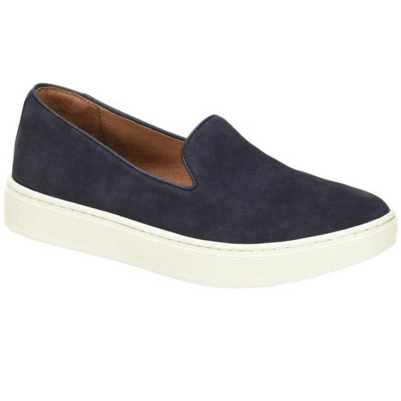 Sofft Somers Slip On Navy Suede SF0021407 (Women's)