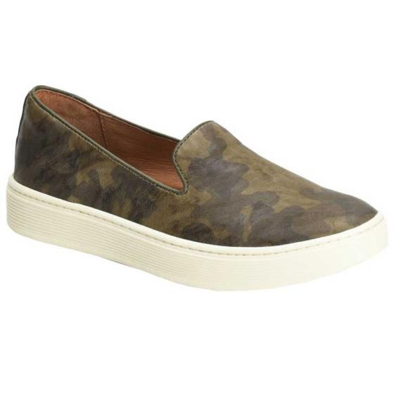 Sofft Somers Slip On Olive Camouflage SF0021406 (Women's)