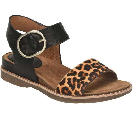 Sofft Bali Black/ Leopard Tan SF0015851 (Women's)