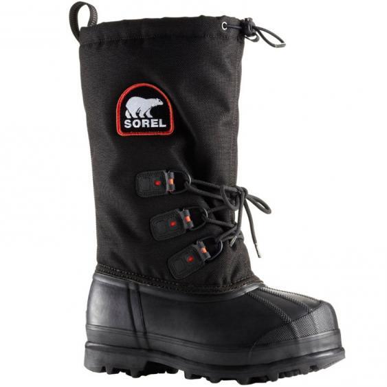 Sorel Glacier XT Black / Red Quartz NL2130-010 (Women's)