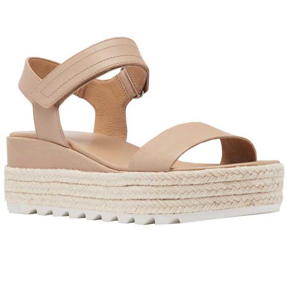 Sorel Cameron Flatform Sandal Honest Beige 1943611-246 (Women's)