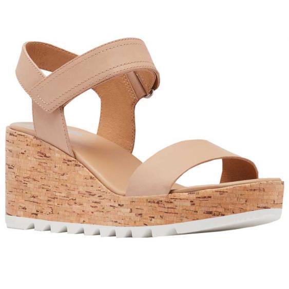 Sorel Cameron Wedge Sandal Honest Beige 1936891-246 (Women's)