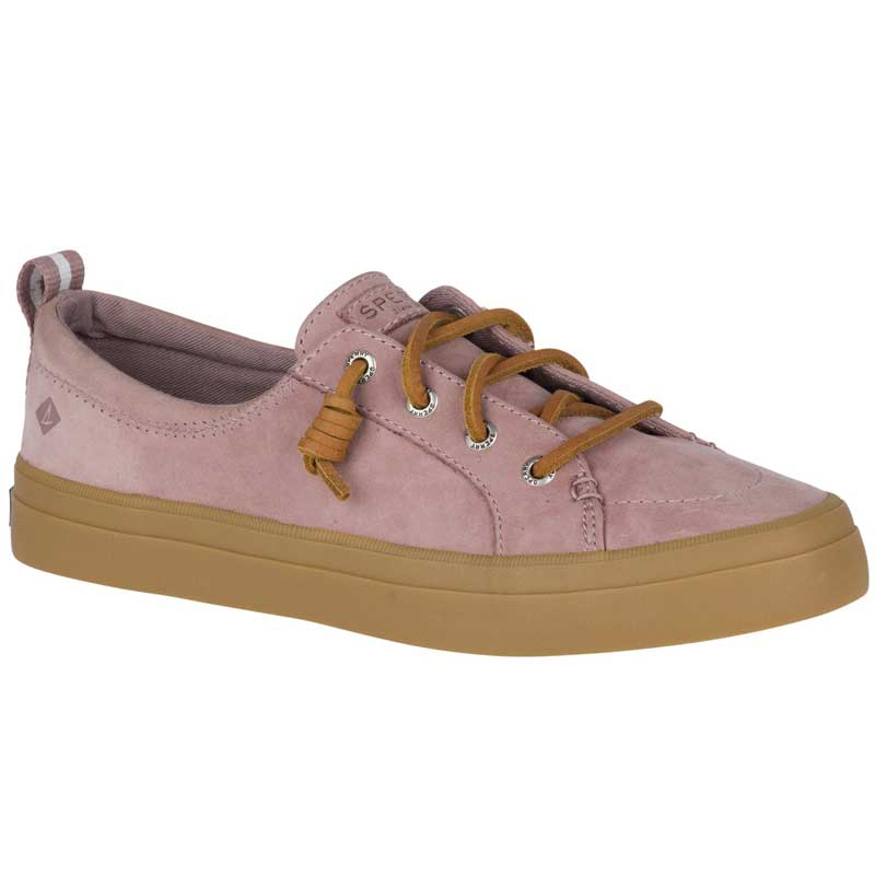 Sperry Top-Sider Women/'s Crest Vibe Washable Leather Sneakers Mauve