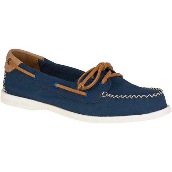 Sperry A/O Venice Canvas Navy STS81546 (Women's)