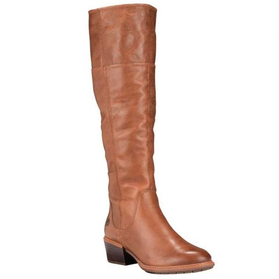 Timberland Sutherlin Bay Tall Slouch Medium Brown Full Grain TB0A1T8FK43 (Women's)