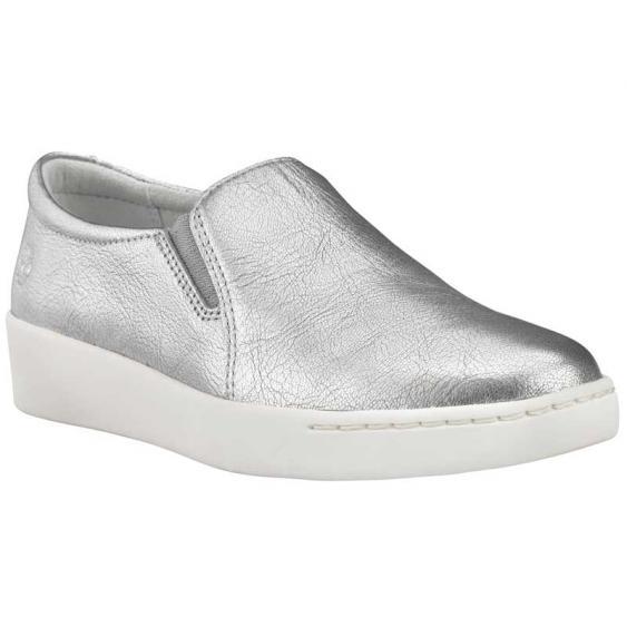 Timberland Teya Slip-On Silver Full Grain TB0A2672040 (Women's)