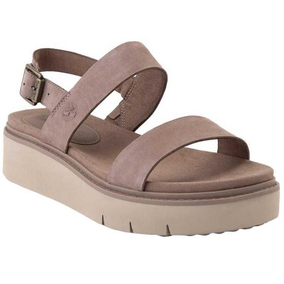 Timberland Safari Dawn 2-Band Sandal Taupe TB0A274F929 (Women's)
