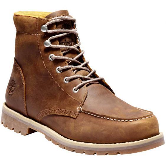 Timberland Redwood Falls WP Moc Toe Boot Rust Full Grain TB0A2EDRF13 (Men's)