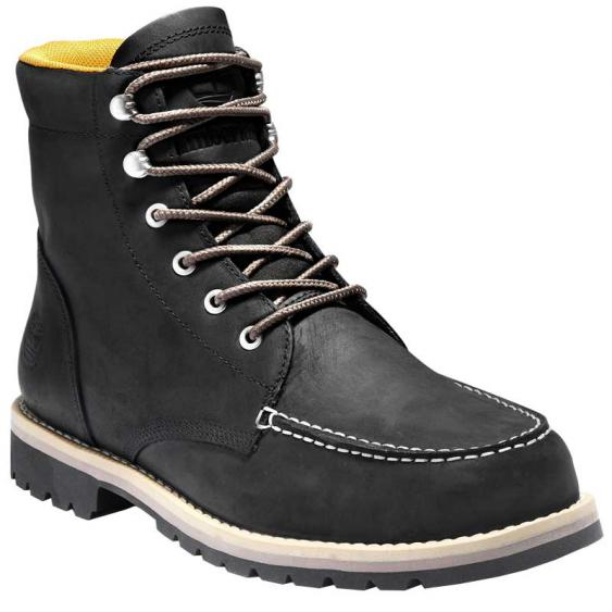Timberland Redwood Falls Waterproof Moc Toe Boot Black TB0A2EEE001 (Men's)