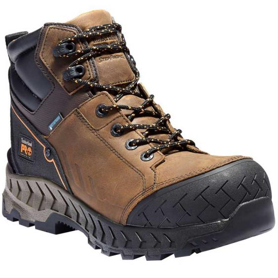 Timberland Pro Work Summit 6'' Comp Toe WP Distressed Brown TB0A225Q214 (Men's)