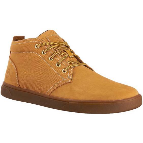 Timberland Groveton Leather & Fabric Chukka Wheat TB0A1115231 (Men's)