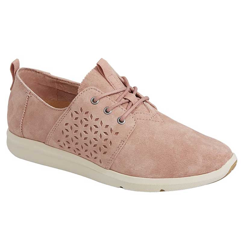 TOMS Shoes Del Rey Bloom Suede 10011744