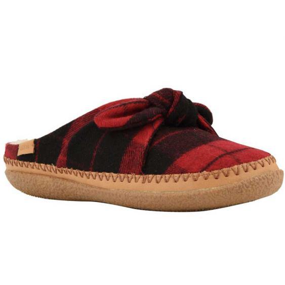 TOMS Shoes Ivy Red Plaid Felt/ Bown 10012481 (Women's)