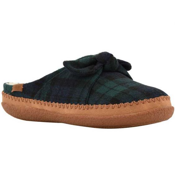 TOMS Shoes Ivy Spruce Plaid Felt/ Bow 10012484 (Women's)