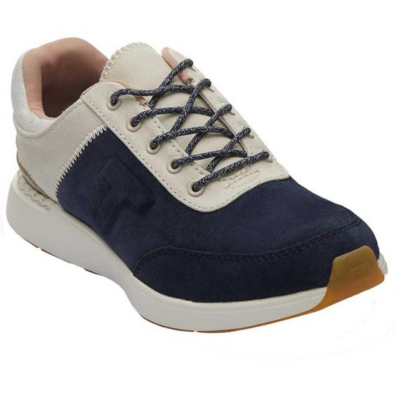 TOMS Shoes Arroyo Navy Suede/ Canvas 10013412 (Women's)