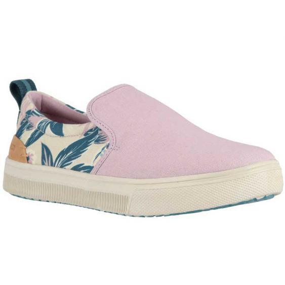 TOMS Shoes TRVL LITE Slip-On Burnished Lilac Floral 10013387 (Women's)