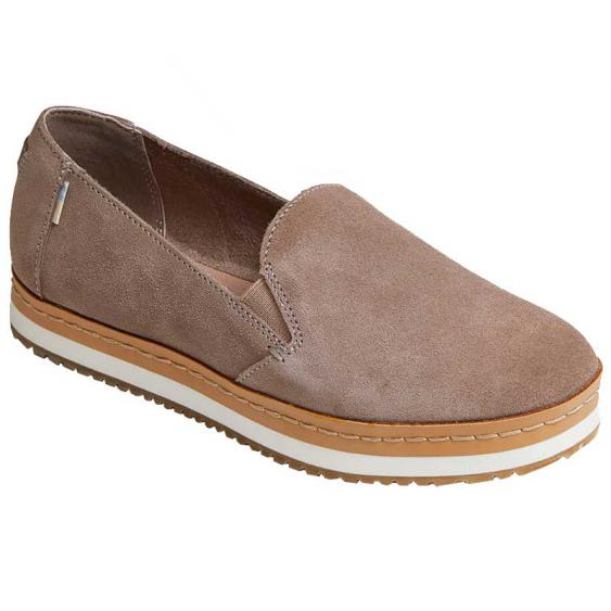TOMS Shoes Palma Wrap Slip-On Taupe Gray 10014284 (Women's)