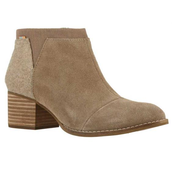 TOMS Shoes Loren Taupe Gray 10014146 (Women's)