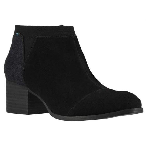 TOMS Shoes Loren Black 10014150 (Women's)