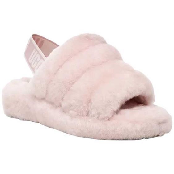 UGG Fluff Yeah Slide Seashell Pink 1095119-SLPN (Women's)