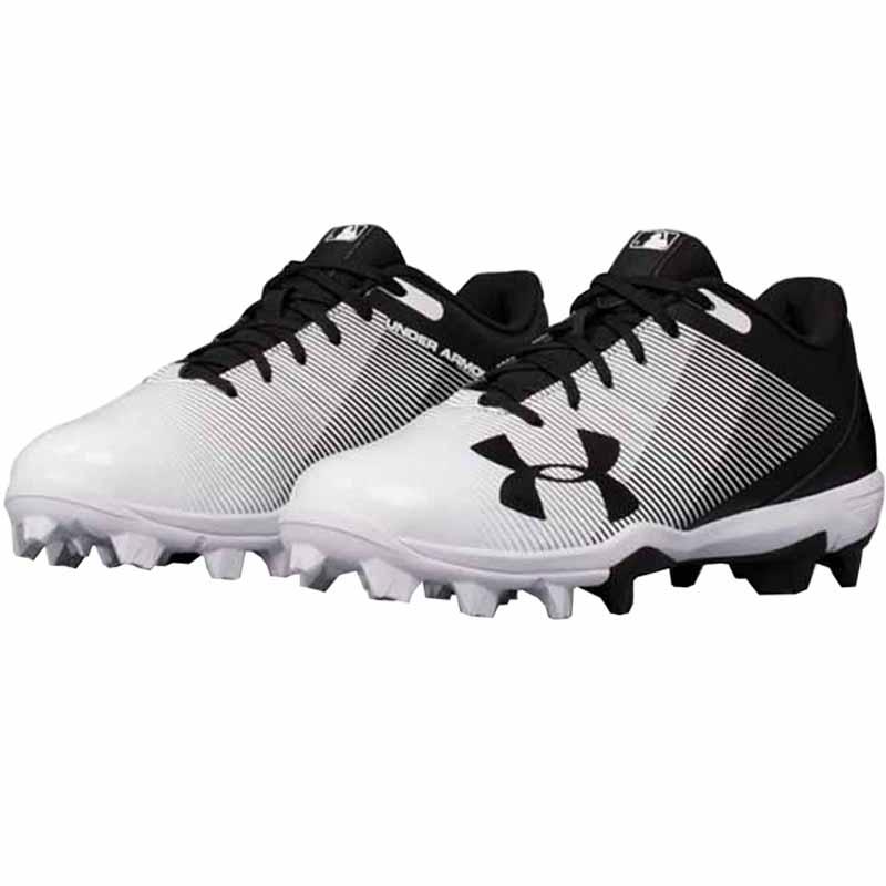 Under Armour Men/'s Leadoff RM Baseball Cleats Black//White #1297317 18ST tz NEW