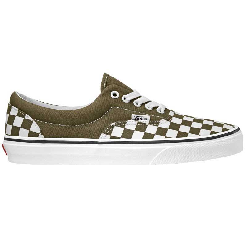 Vans Era Checkerboard BeechTrue White Shoes