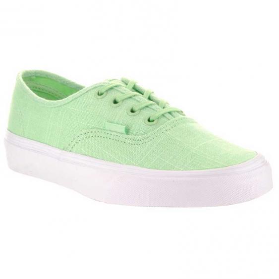 Vans Authentic Hemp Linen Patina Green/ True White VN0A38EMMPA (Women's)