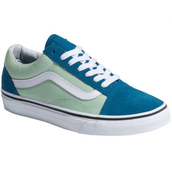 Vans Old Skool 2-Tone Blue Sapphire/ Pastel Green VN0A38G1VOK (Women's)