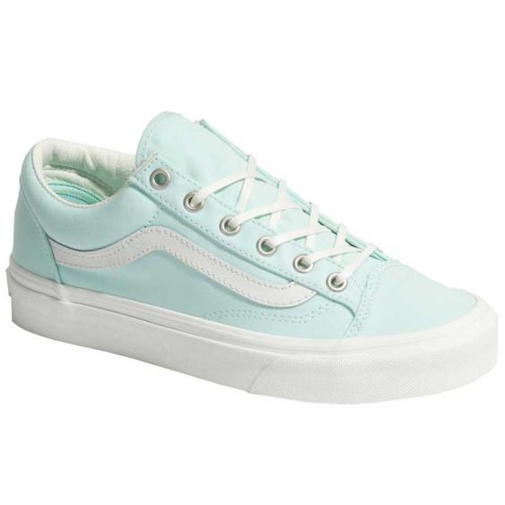 Vans Style 36 Brushed Twill Soothing Sea/ Snow White Vn0A3DZ3VLP (Women's)