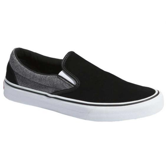 Vans Classic Slip-On Suede Suiting/ Black VN0A4BV3V3E (Men's)