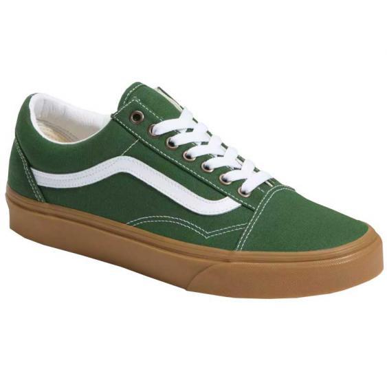 Vans Old Skool Gum Greener Pastures/ True White VN0A4U3BWYY (Men's)