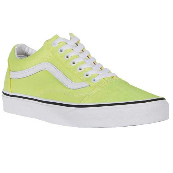 Vans Old Skool Neon Lemon Tonic/ True White VN0A4U3BWT7 (Women's)