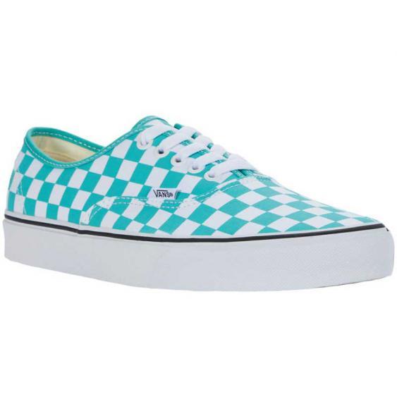Vans Authentic Checkerboard Waterfall/ True White VN0A348A3YF (Women's)