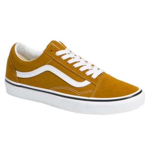 Vans Old Skool Golden Brown/True White VN0A3WKT9GE (Men's)