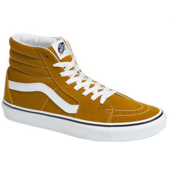 Vans Sk8-Hi Golden Brown/True White VN0A32QG9GE (Men's)