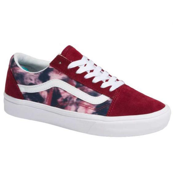 Vans ComfyCush Old Skool Grunge Wash Multi/Tie-Dye VN0A5DYC9JZ (Women's)