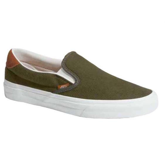 Vans Slip On 59 Flannel Dusty Olive VN0A38GUU4N (Men's)