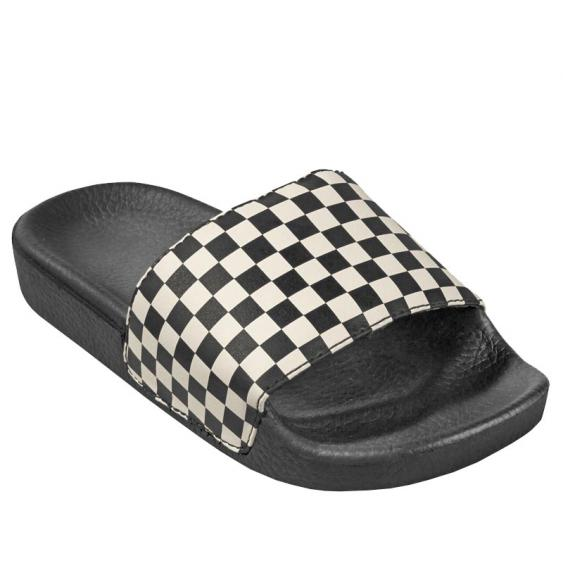 Vans Slide-On JR White Checkerboard VN0A45KBIP9 (Youth)