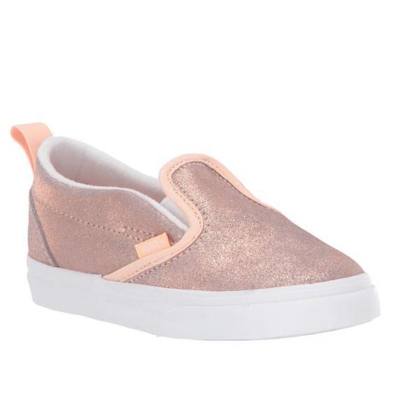 Vans Slip-On V Rose Gold/ Rose Gold VN0A3488T61 (Infant)