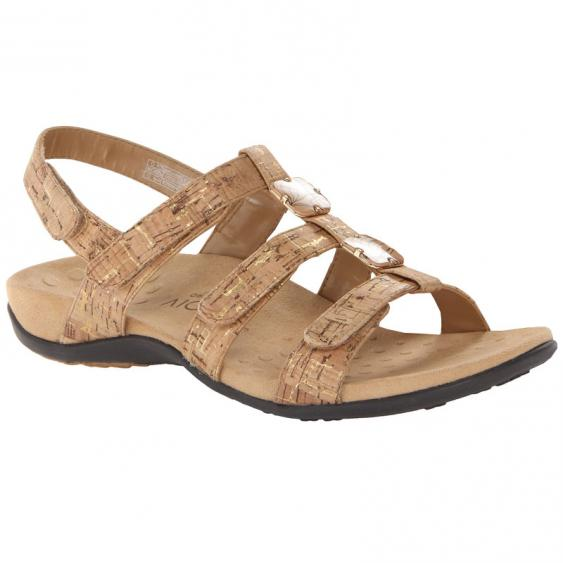 Vionic Amber Gold Cork (Women's)