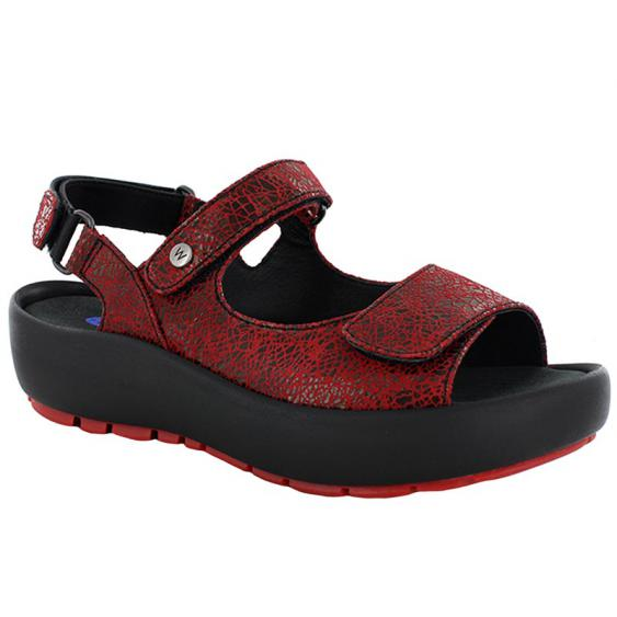 Wolky Rio Red Crash Suede 3325-450 (Women's)
