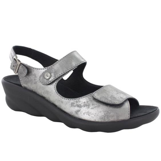 Wolky Scala Light Gray Amalia Nubuck 3125-120 (Women's)